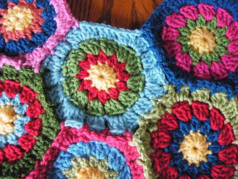 Hex blanket 002